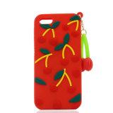 Silikon-Telefon-Kasten der Form-Kirschegummi-DIY für iPhone