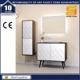 Glanz-weißes Mischmelamin-an der Wand befestigte Badezimmer-Schrank-Möbel