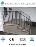 Лестница черного порошка Coated ограждая для дома с высоким качеством