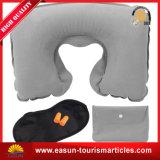 Almohadilla profesional del cuello para la almohadilla del recorrido del soporte de la parte posterior del aeroplano de la almohadilla inflable de la línea aérea