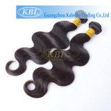 Волосы Peruvian волос Aaaaaa 100%Human ранга
