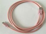 Новый тип кабель конструкции USB PU c 2.0 Braided