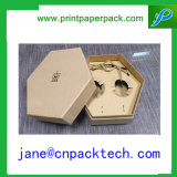 Cadre de empaquetage fait sur commande de boîte-cadeau cosmétique de papier de mémoire