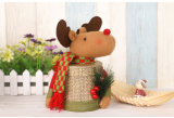Caja de regalo de Navidad Navidad Santa Claus Deer Caja de muñeco de nieve