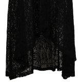 Dropshipping Pinのレトロの促された踊る衣服の少しのカスタム黒いレースのスカート