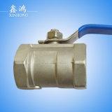 1 robinet à tournant sphérique de l'acier inoxydable Dn15 du PC 201