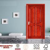 Nueva puerta de madera compuesta del tablero del MDF del panel del diseño 4 (GSP6-014)