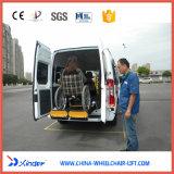Elevación de sillón de ruedas certificada Ce para Van Loading 350kg