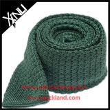 Private Label 100% Silk Knitted Mens Skinny Tie