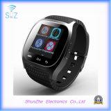 Relógio esperto de Andriod do despertador da forma do atendimento de telefone M26 com Bluetooth Multi-Function