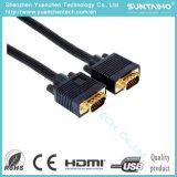2016 Mann der Qualitäts-HD 15pins zum männlichen VGA-Kabel