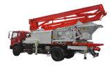 Camion de pompe de boum de mélangeur concret