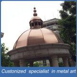 Parte superiore di rame personalizzata Rod della decorazione del metallo della moschea per i musulmani