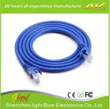 Câble LAN du câble de cordon de connexion/Cat5e