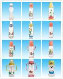 Nahrungsmittelgrad-Silikon-Baby-führende Flasche 100%