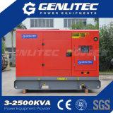gerador 80kVA Diesel silencioso com Cummins 4BTA3.9-G11