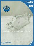 frasco de vidro do uísque 250ml sem chumbo transparente de primeira qualidade