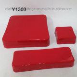 Изготовленный на заказ классическая роскошная деревянная оптовая продажа коробки подарка хранения упаковки ювелирных изделий
