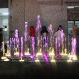 Fontaine d'eau programmable de danse de musique de décoration extérieure
