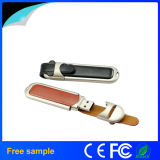 Promocional Gift 8GB Custom Logo Leather USB Flash Drive