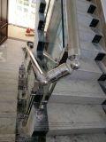 Нержавеющая сталь строительного материала и поручень стекла