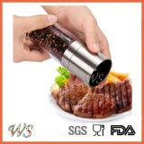 Ws-Pg009 Especias Sal y Pimienta Grinder con molinillo regulable Ajuste y el rotor mecanismo de cerámica