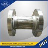 Mangueira ondulada do metal flexível de aço inoxidável com extremidade da flange
