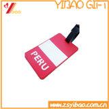 Het Naamplaatje van pvc van Quality van Hight voor Travel Advertizing Luggage Tag (yb-hd-28)