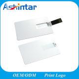 Azionamento di plastica dell'istantaneo del USB della carta di credito del disco di stampa U di marchio di sostegno
