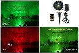 Het binnen Openlucht Waterdichte Licht van Kerstmis van de Laser, de Projector van de Ster met Afstandsbediening