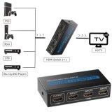 Interruptor HDMI 3X1 3 Conmutador de alta velocidad del puerto de entrada
