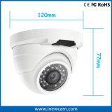 cámaras de seguridad del IP de la bóveda de 4MP Poe para al aire libre