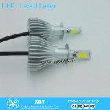 새로운 디자인 고성능 H1, H4, H7 의 9007 6000k LED 헤드라이트 45W 맨 위 빛 LED 차 빛
