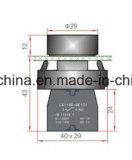 Tipo Emergency interruptor del metal de pulsador con marca de fábrica de la chavetera