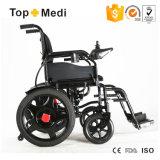Sillón de ruedas eléctrico desmontable Handicapped de la manera del mecanismo impulsor de 4 ruedas para los ancianos
