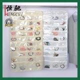 80 Sacs de rangement pour décoration de bijoux pour poches transparentes pour salle de bain