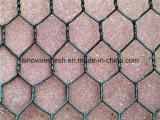 めっきされる電流を通された、Hot-DIP亜鉛競争価格のPVCによって塗られる六角形ワイヤー網