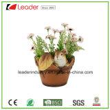 Flowerpots do Hedgehog de Polyresin da alta qualidade para a decoração da HOME e do jardim