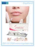 Enchimento Injectable do ácido hialurónico de Singfiller da marca do Ce para a cirurgia cosmética