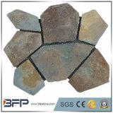 Pedra de pavimentação ajardinando barata da ardósia de pedra para o terraço