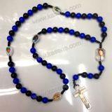 حبل خرزة سبحة كاثوليكيّة دينيّ مع مختلفة تصميم وألوان