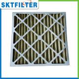 Marco de la cartulina G4, filtro de aire galvanizado del marco