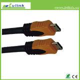 Медь кабеля кабеля покрынная золотом HDMI PVC HDMI кабеля HDMI