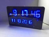 Klok van de Muur van het LEIDENE Alarm van de Lichtbron en van het Type van Flitslichten de Radio Gecontroleerde