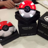 Крен силы крена 10000mAh Pokeball силы Pokemon для iPhone Samsung