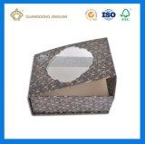 Rectángulos de empaquetado modificados para requisitos particulares fábrica de la cartulina hecha a mano (con la ventana del PVC)