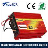 Precio bajo 12V 60A universal portátil Mini cargador de batería de coche
