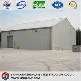 지진 저항 Prefabricated 강철 구조물 창고 또는 헛간