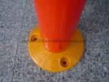 대중적인 좋은 품질 공장 도매 맞물리는 750mm PVC 경고 포스트
