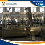 Máquina que capsula de relleno del fregado de las botellas de cristal para la cerveza del refresco